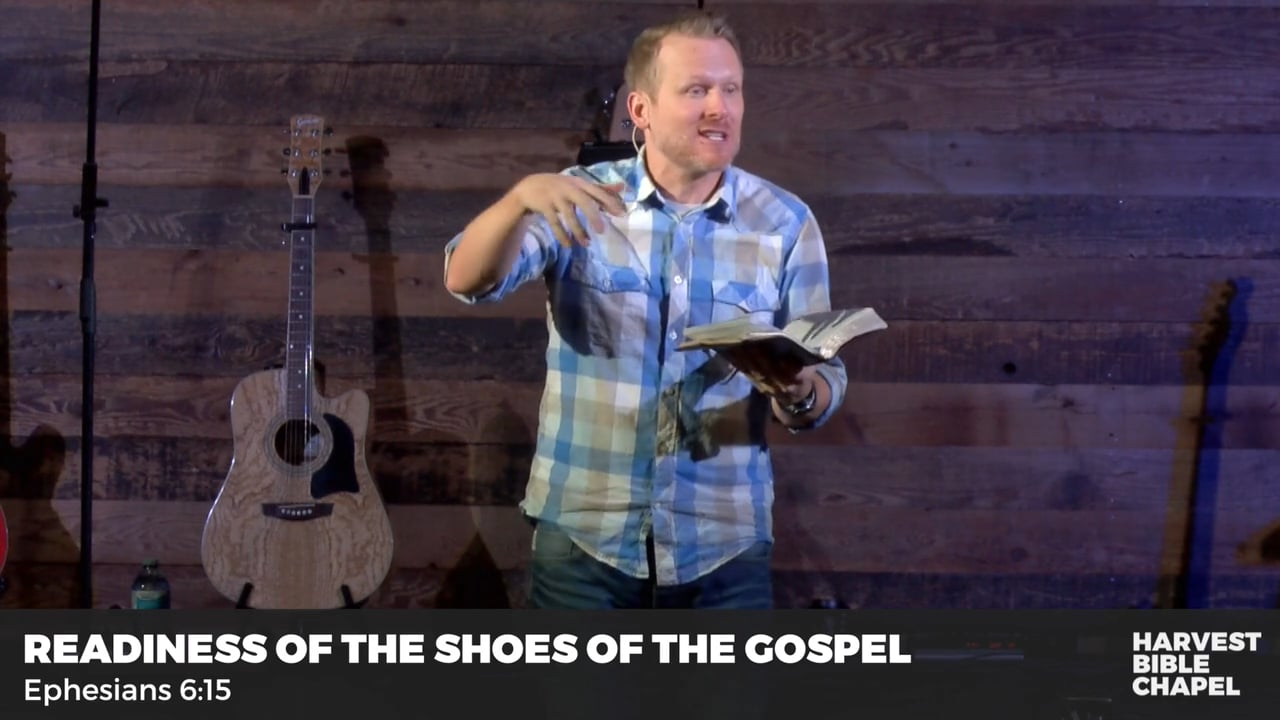 Readiness Of The Shoes Of The Gospel