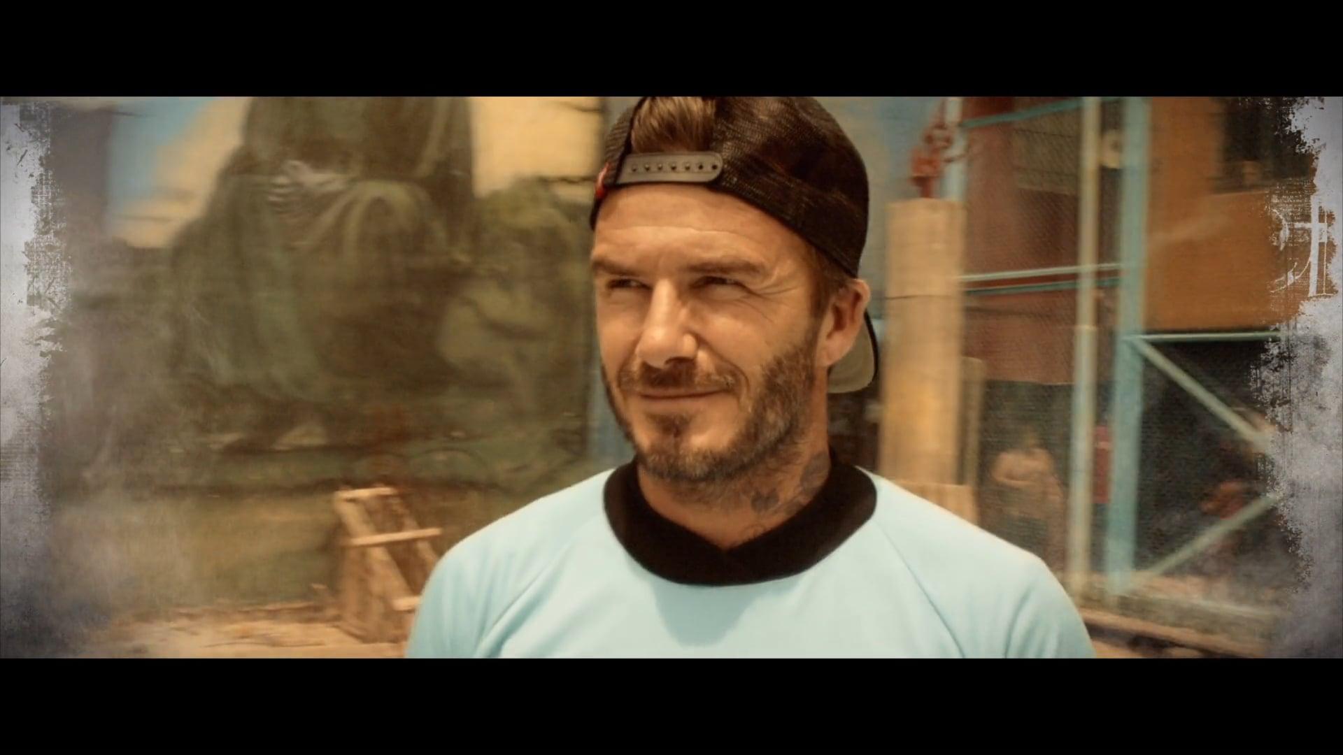 David Beckham - David Beckham For the Love of the Game // Production Company Big Earth // Director Ben Jones
