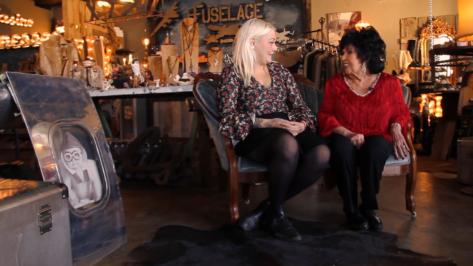 Elle King and Wanda Jackson In Nashville