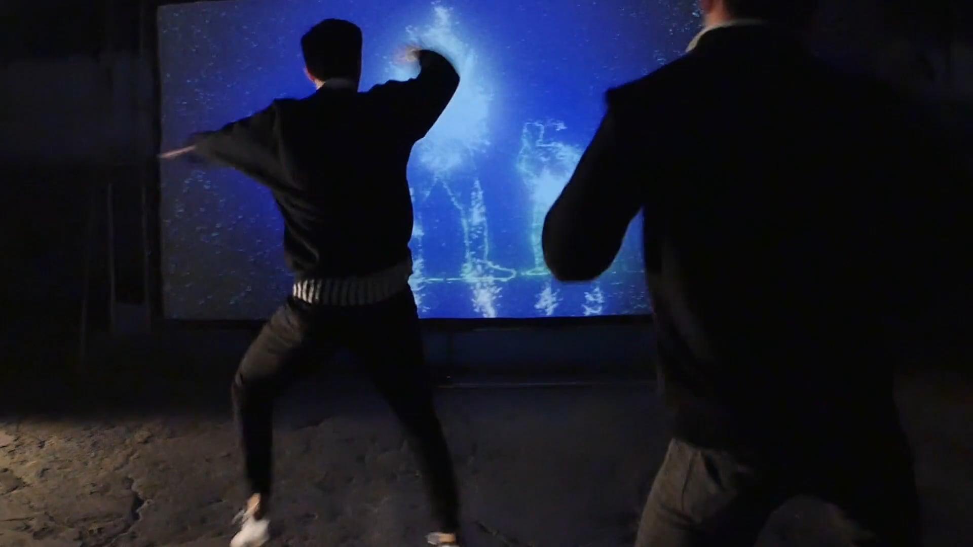 Magic Dance Mirror Tease