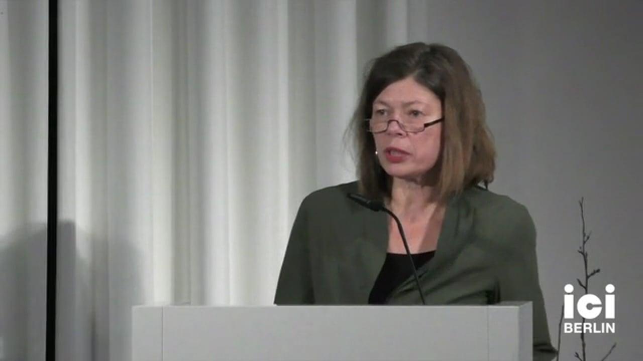 Talk by Susanne Lüdemann