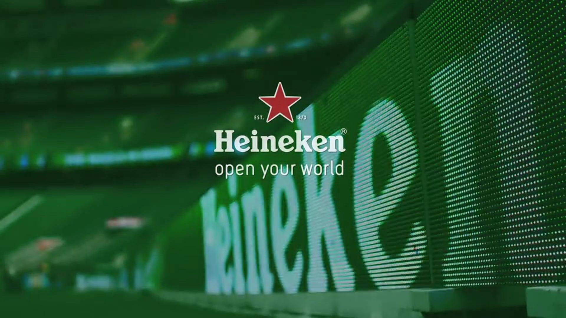 Heineken - Proud To Open Rugby World Cup 2015