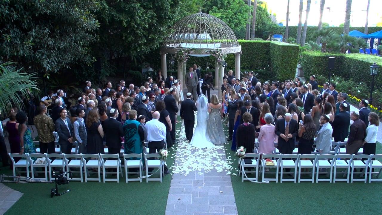 Party Designs by Carol plans a Ritz Carlton Marina Del Rey Wedding