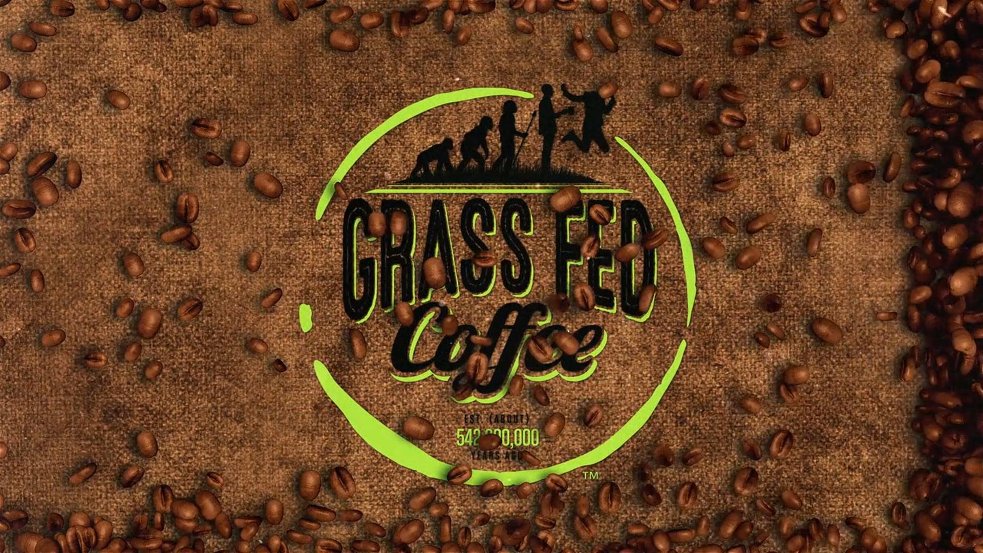 Grass Fed Coffee Ad