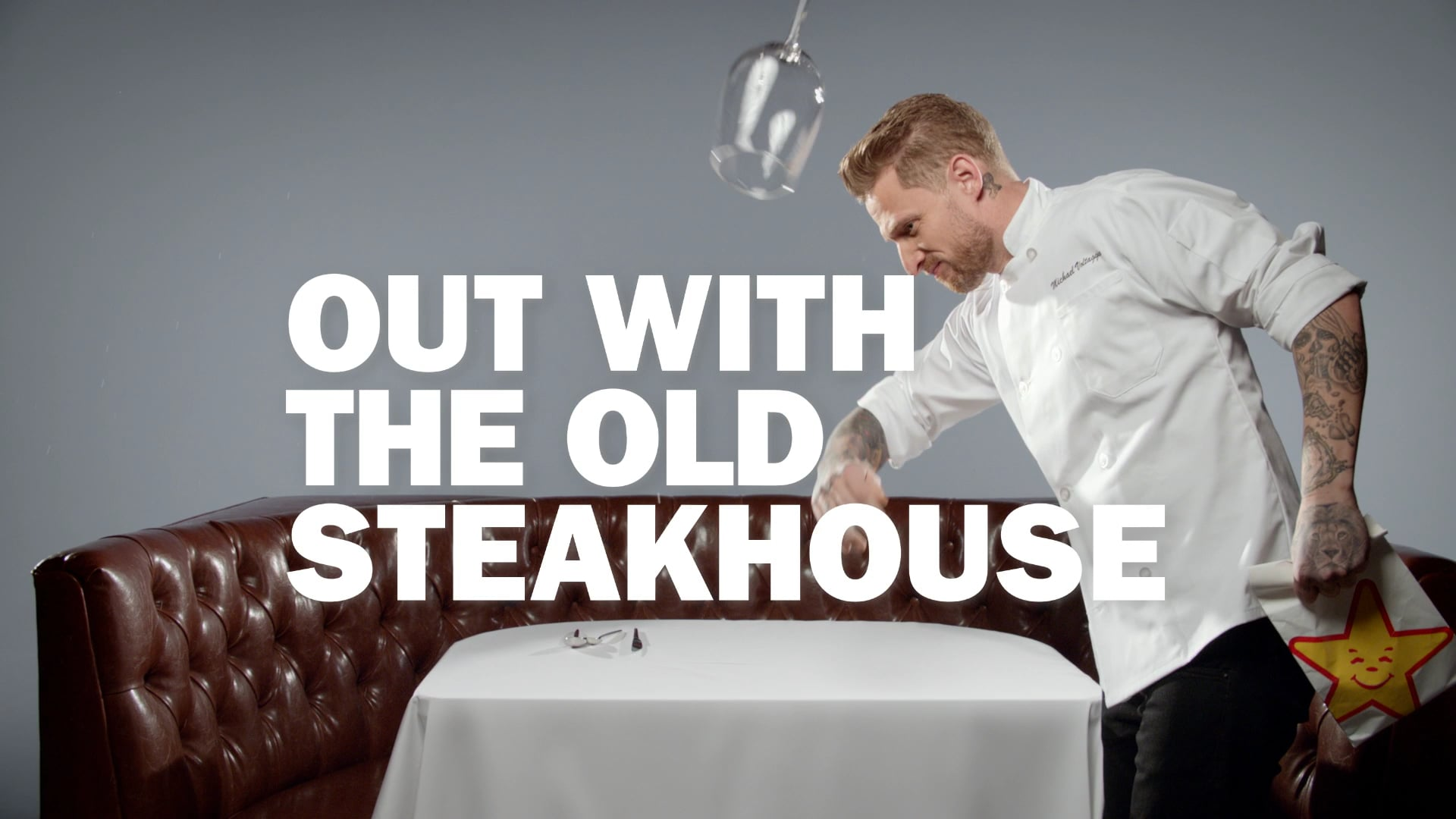 HUNGER - Voltaggio - Steakhouse - Carl's Jr. - Hardee's - :30