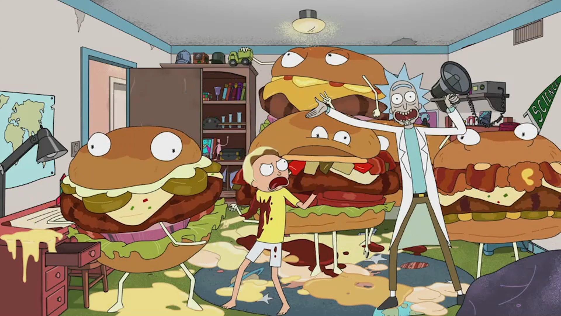 Rick & Morty - Carl's Jr. - :30