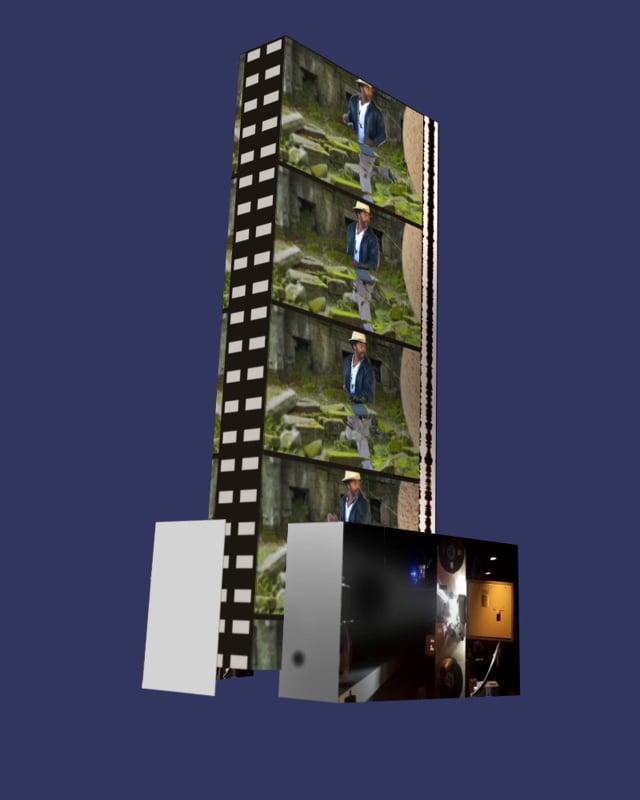 """AOTM17: Frank Floyd: """"Film Strip"""""""