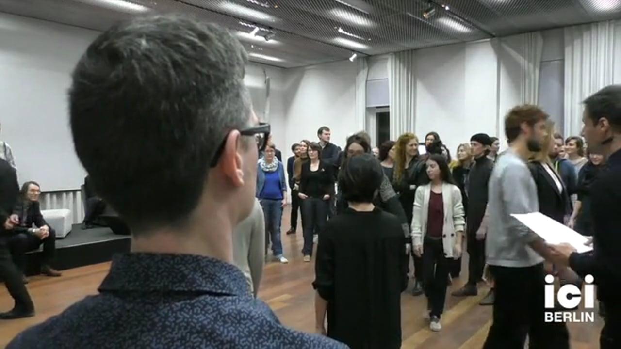 Lecture Performance by  Sebastian Matthias