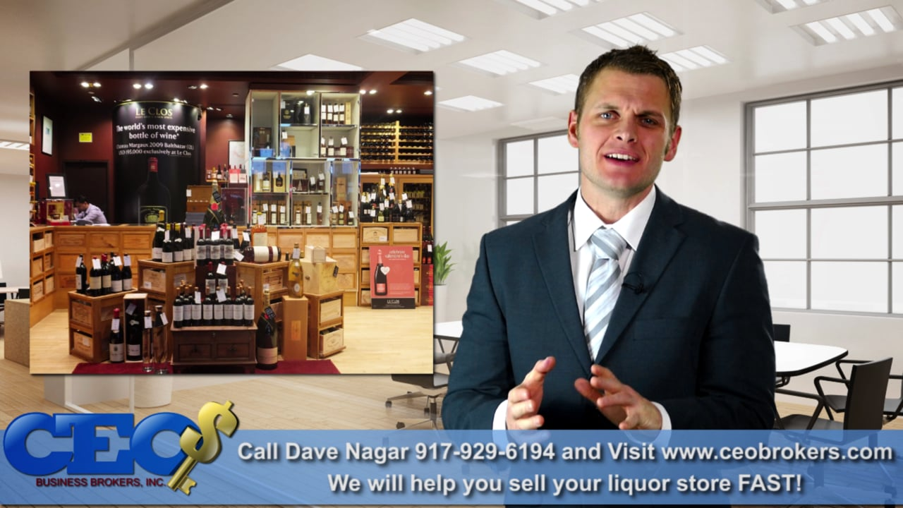 Sell your Liquor Store! (CEO BUSINESS BROKERS will help you sell your store for top Dollar)