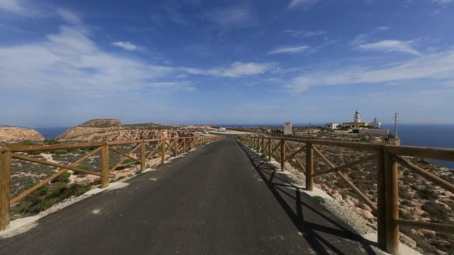 Virtual Cycle Rides - Coastal Landscape