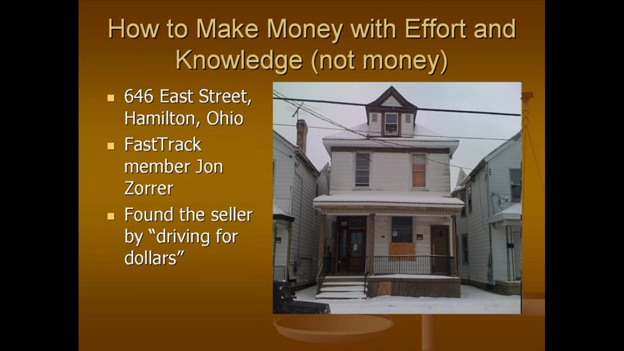 Intro to Real Estate Investing