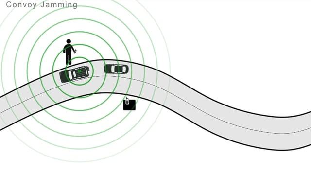 «Convoi Jamming System Comlab» Produktefilm