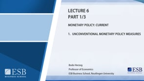 Macroeconomy Lecture 6: Monetary Policy