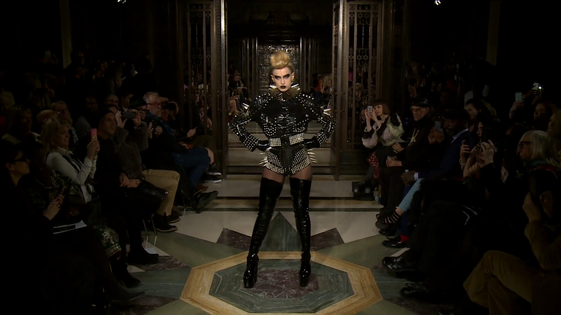 Pam Hogg AW 2016 Divine Delinquent