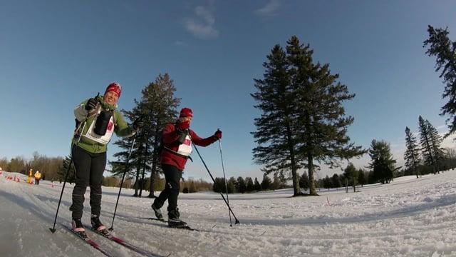 Reportage : Survol du 50e Marathon canadien de ski (Zone 29 février 2016 p.07)