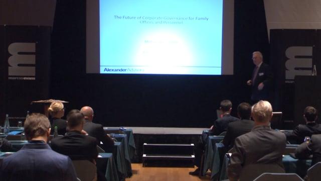 Elite Summit - Abstract: Michael McCroddan, Alexander Advisory Limited