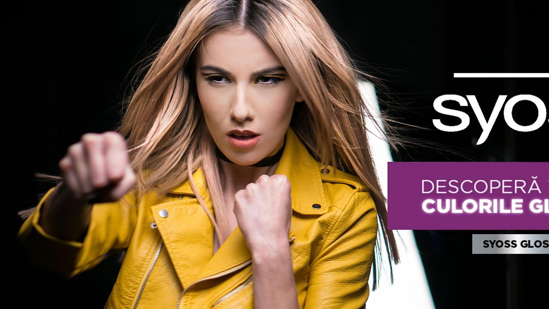 Alexandru don -SYOSS Gloss Sensation Campaign