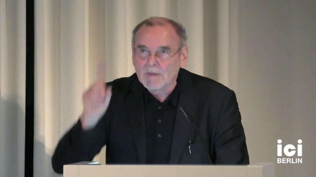 Talk by Juergen Trabant