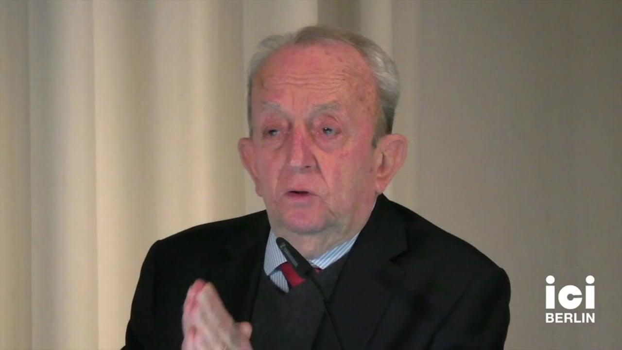 Talk by Tullio De Mauro