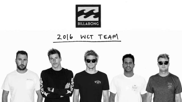 2016 World Tour Team from Billabong