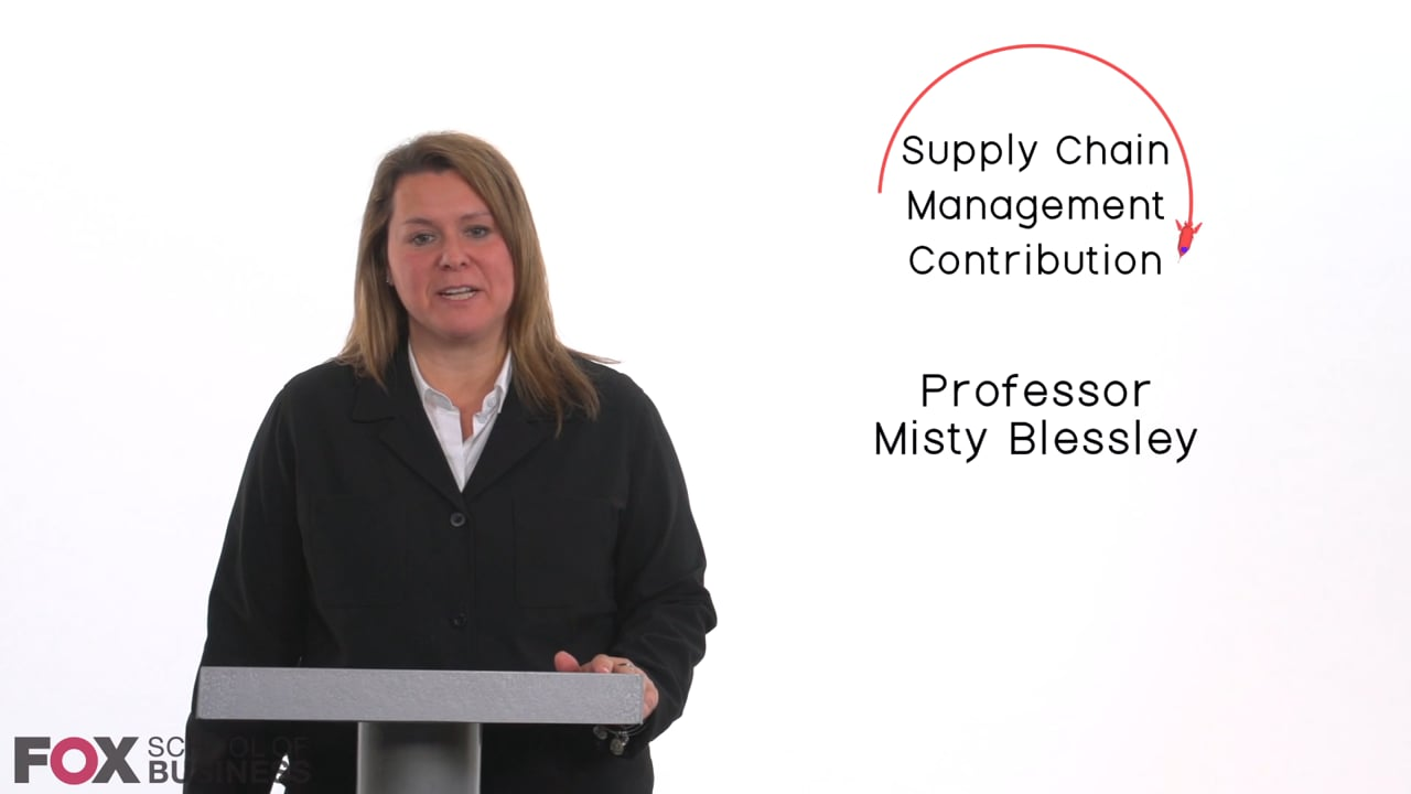 58826Supply Chain Management Contribution