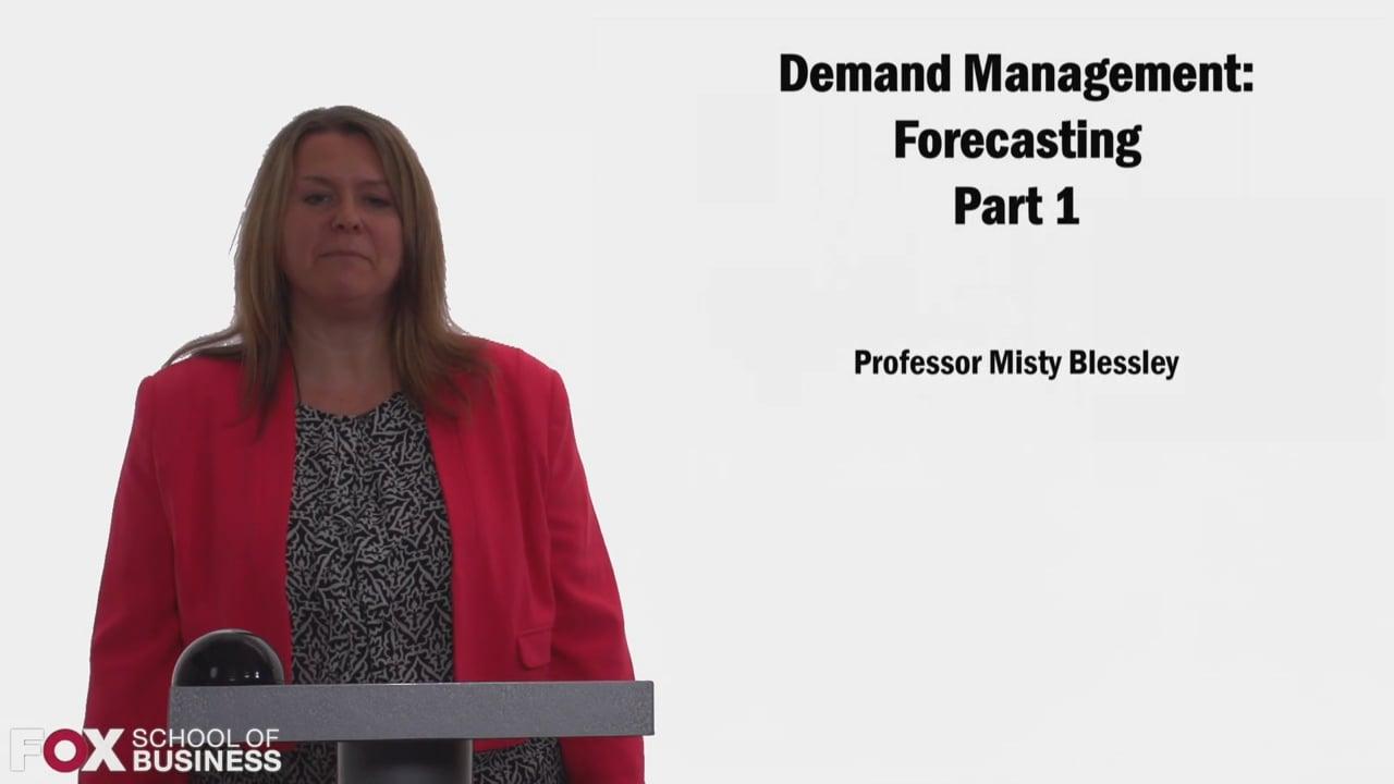 58321Demand Management Forecasting Part 1