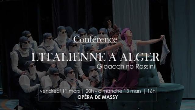 Conférence l'italienne à Alger