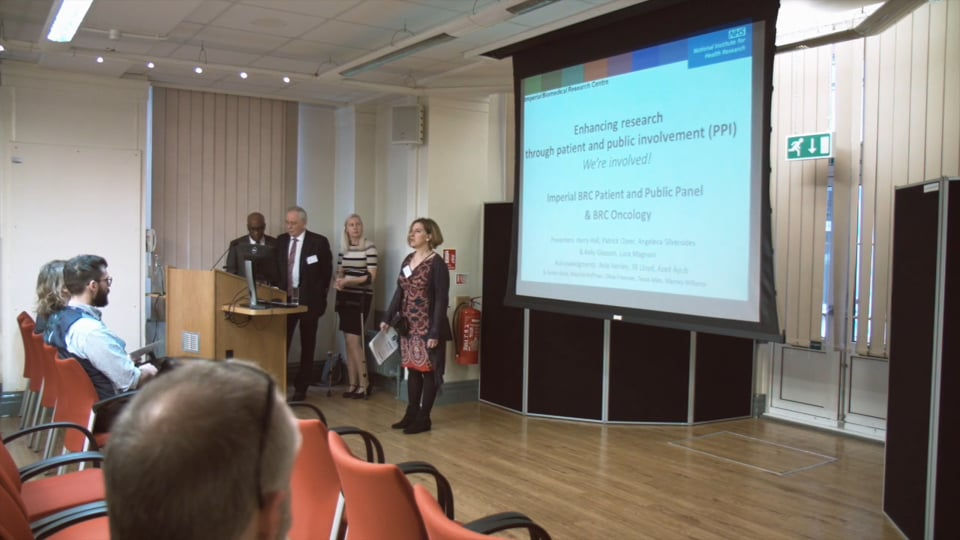 Health Research Matters, NIHR Imperial Biomedical Research Centre Open Day, 2016 - Patient & Public Involvement Presentation thumbnail