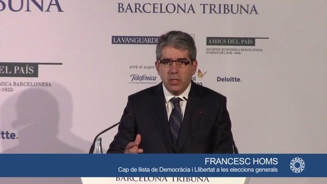 Conferencia de Franscesc Homs (16/12/15)