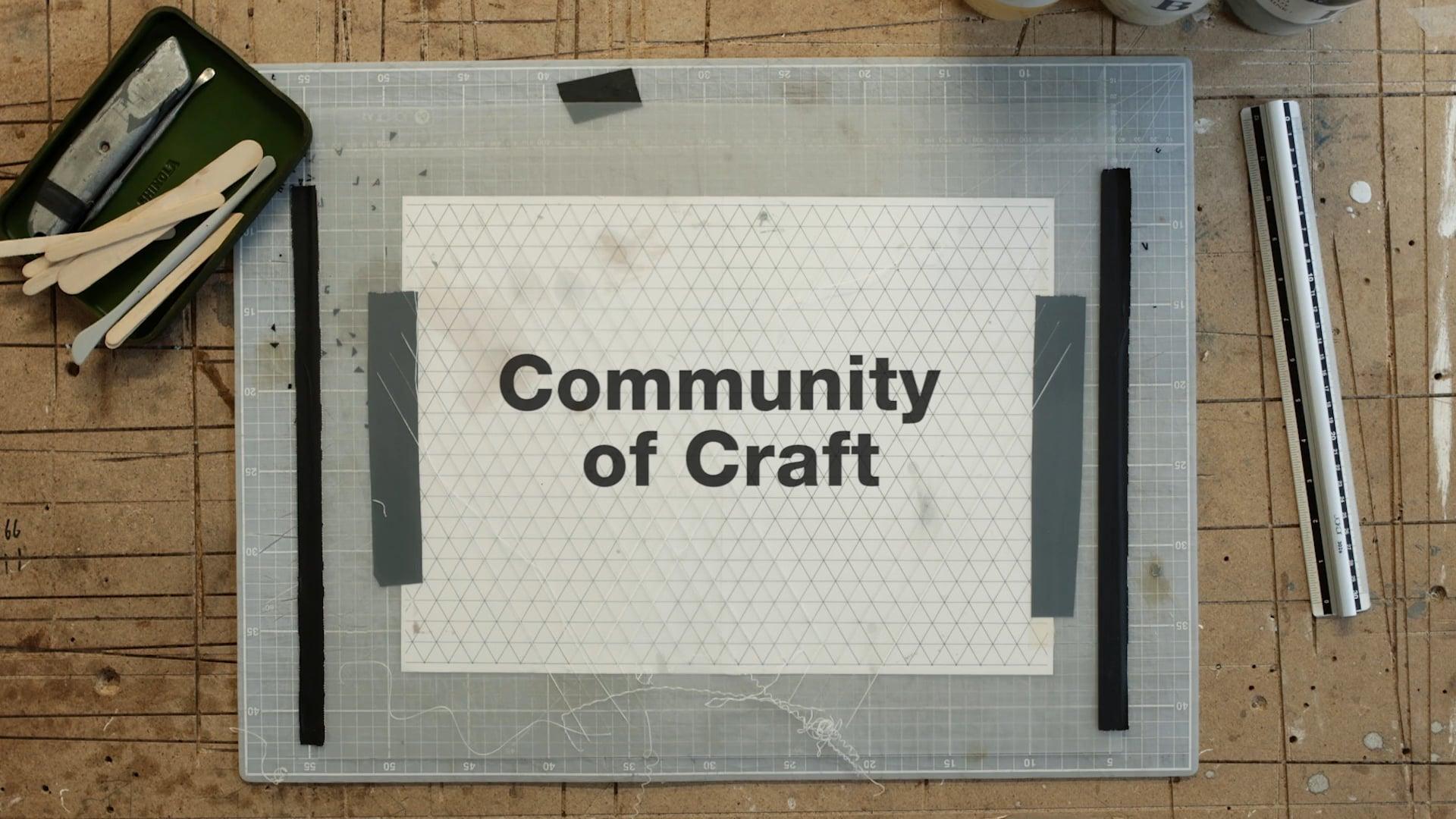 Jocks&Nerds - Shinola 'Community of Craft' – Phil Cuttance-HD