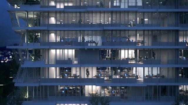 Bureaux avec terrasses