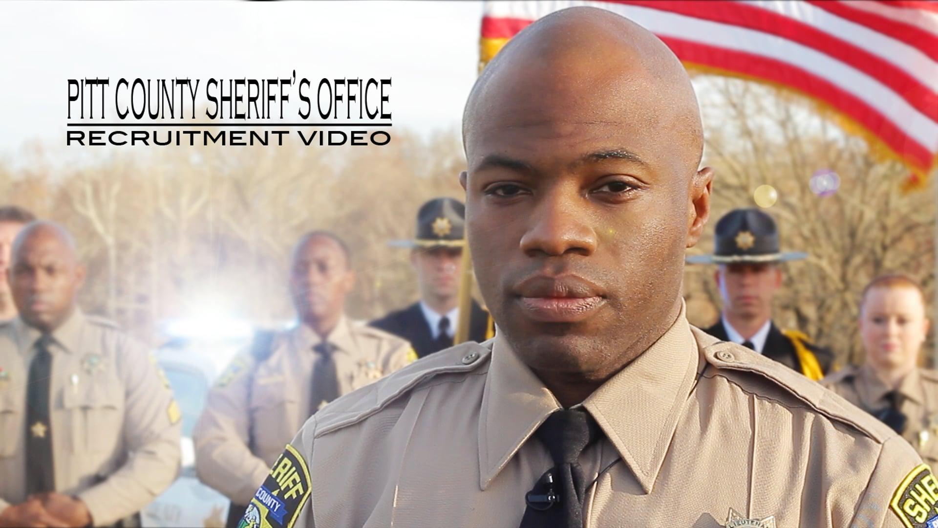 Pitt County Sheriff's Office Recruitment