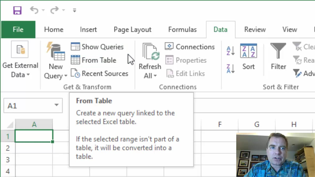 Excel Video 499 Turn on Power View in Excel 2016