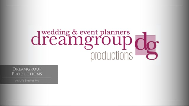 Dreamgroup Productions Wedding Planners About Us Video, http://www.dreamgroup.ca/   By: Life Studios Inc, www.lifestudiosinc.com