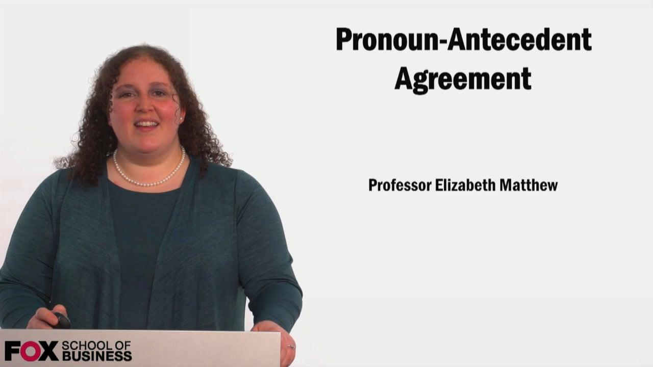 58939Pronoun/Antecedent Agreement