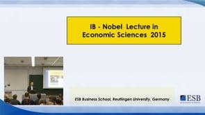IB Nobel Lecture in Economics 2015