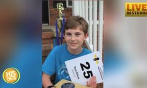 Spelling Bee Champ Overcomes Setback to W-I-N