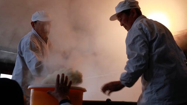 MOVIE Fukushima「Process of brewing sake」
