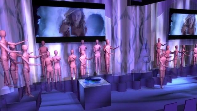 Victoria's Secret Previz 1/29/15