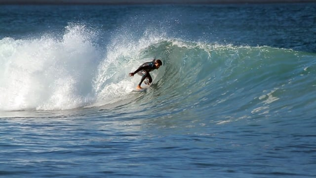 Mediterranean Slab' – 24 March 2016 surf session from Surfdudespain