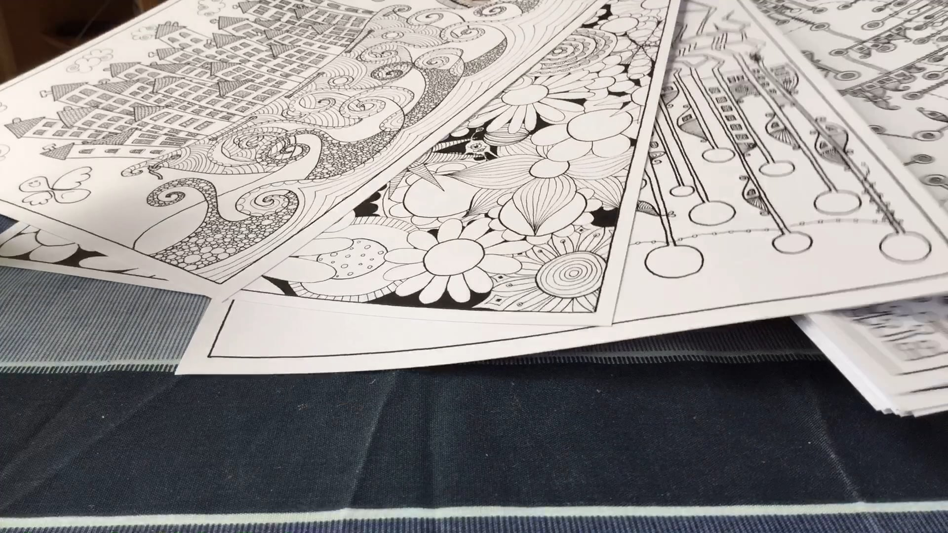 Colouring pages got to be real