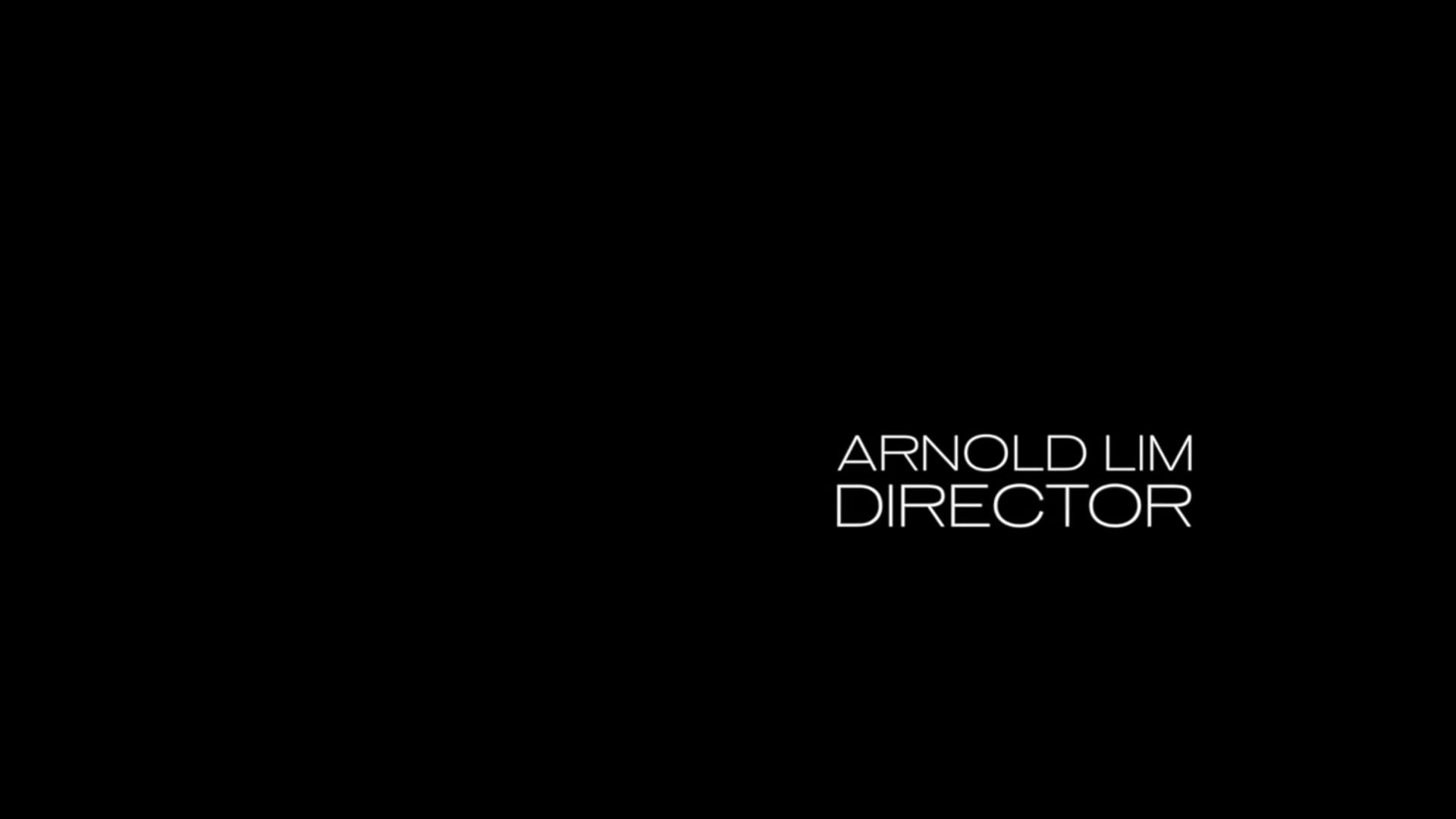 Arnold Lim - Director's Sizzle Reel - 2017