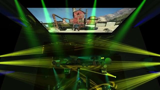 Pre-Visualization for Grand Theft Auto V Event 12/6/13