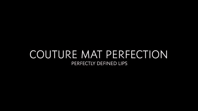 YSL Couture Mat Perfection, Perfectly Defined Lips Official Look Video for YSL