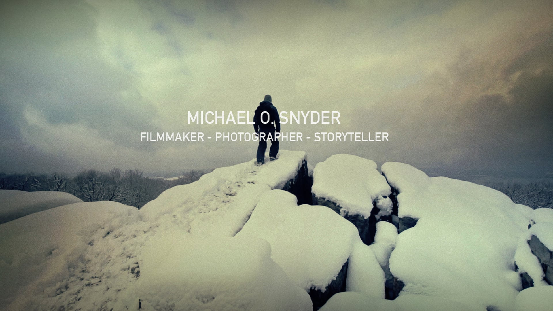 Michael O. Snyder - Director's Reel