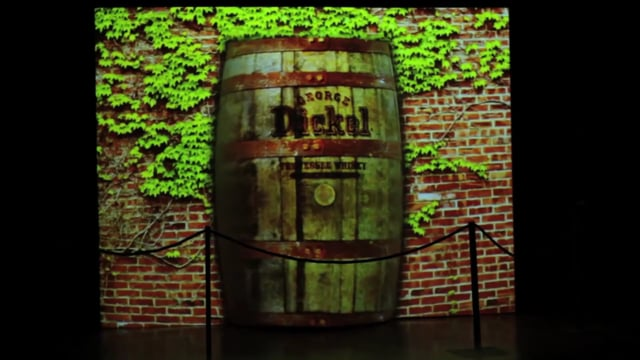 Dickel Whiskey Raising the Bar-3D Projection Mapping  Channel 3/5/13