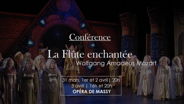 Conférence La Flûte Enchantée
