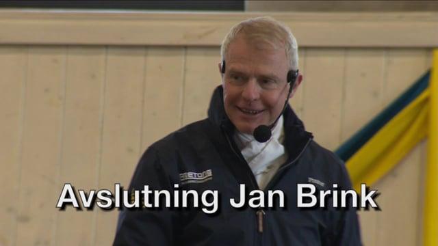 Avslutning Jan Brink