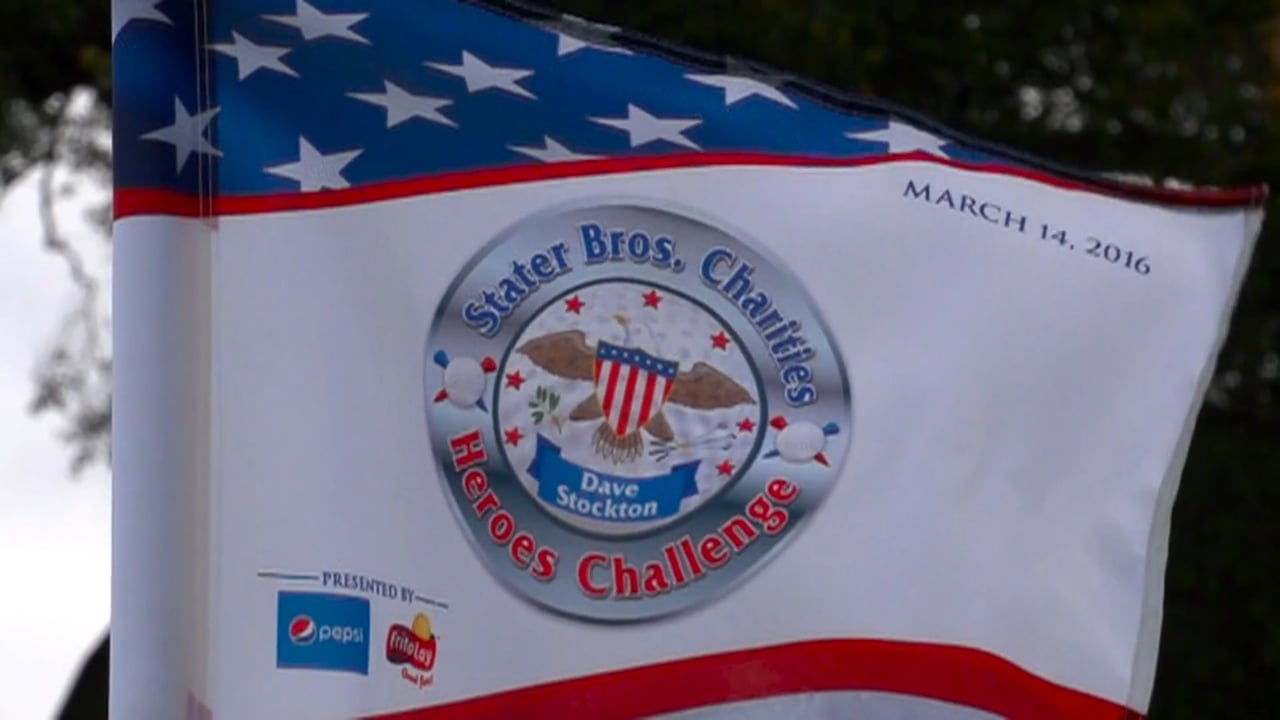 9th Annual Stater Bros. Charities Dave Stockton Heroes Challenge Celebrity Golf Tournament Redlands Country Club 2016