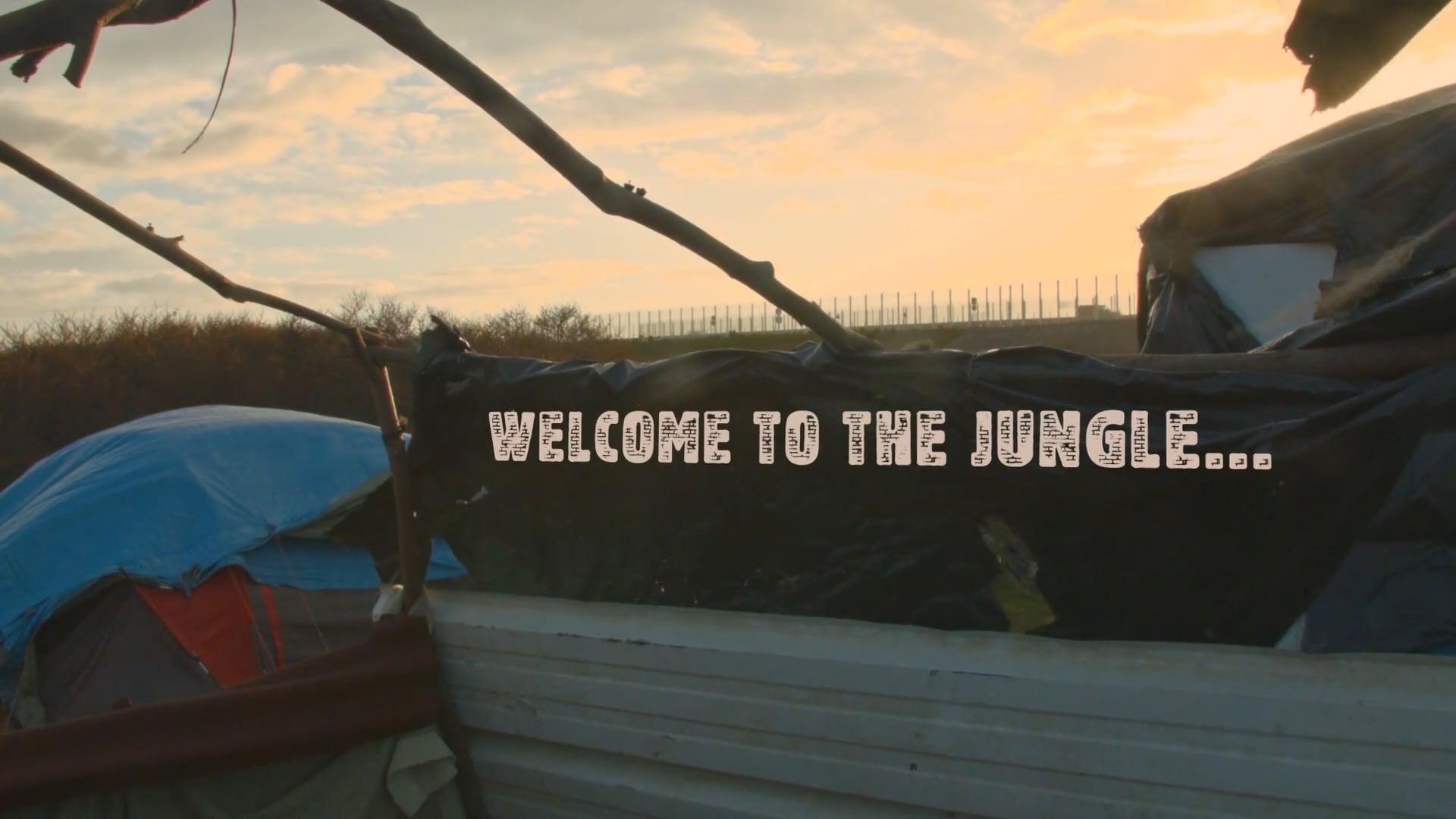 In Their Shoes - Calais Jungle Camp